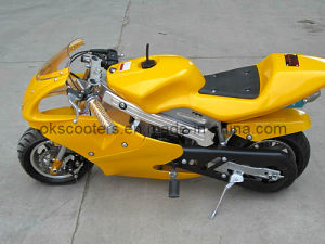 49CC 2 Stroke Mini Pocket Bike for Kids (YC-8001) pictures & photos