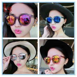 Hot Style Women V Brand Woman Big Colorful Sunglasses with Arrow pictures & photos