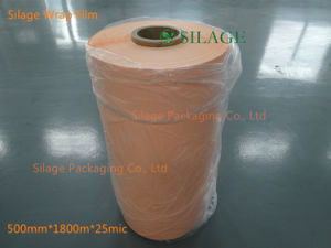 Best Quality Blown Silage Wrap Film in Orange Color pictures & photos