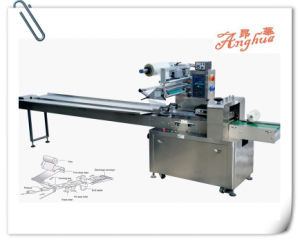 Automatic Chocolate Flow Packaging Machinery pictures & photos