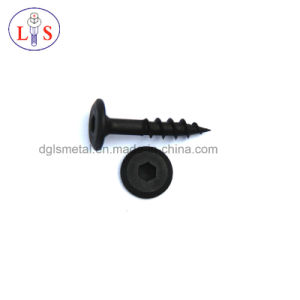 Flat Head Hexagonal Socket Self Tapping Screw pictures & photos