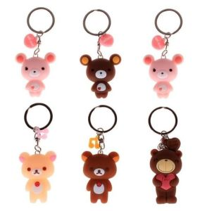 Professional Manufacture New Symbol Silicone Rubber Keyring pictures & photos