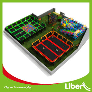 2014 New Design Large Professional Indoor Trampoline Park pictures & photos