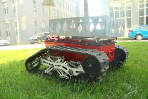 Crawler and Wheel Two Walking Mode Equipped Robot pictures & photos