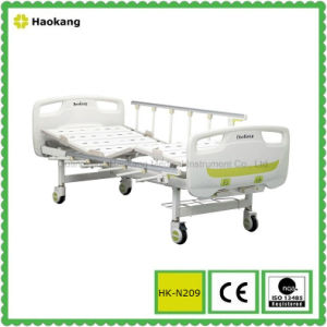 HK-N209 Two Function Manual Hospital Bed (medical equipment, hospital furniture) pictures & photos
