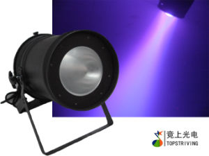 LED COB PAR 64 Light with 200W Rgbwu 5 in 1