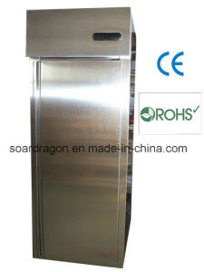 Single Door Column Commerical Refrigerator for Kitchen Use pictures & photos