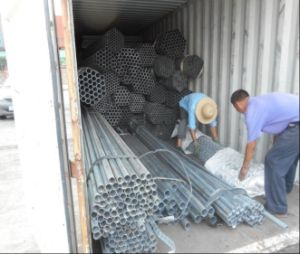 Q195 Q235 Square Round ERW Welded Hollow Section Steel Tube/Pipe pictures & photos