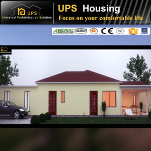 SGS Certificated Long Life Span Prefabricated House for Africa pictures & photos