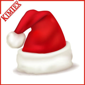 High Quality Fleece Christmas Santa Claus Hat pictures & photos
