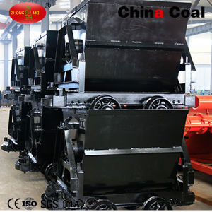China Coal Kfu0.75-6 Bucket-Tipping Mine Car pictures & photos