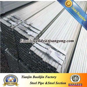 Corrugated Galvanized Square Pipe pictures & photos