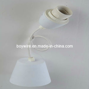 Lamp Kit Ceramic Cap with Ceiling Rose, Texitle Power Cord pictures & photos