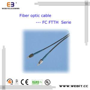 FTTH Sc/LC/FC/St/E2000 Fiber Optical Cable, FTTH Cable pictures & photos