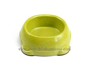 Bamboo Fiber Pet Supply Bowl (BC-PE6008) pictures & photos