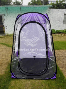 Pop up PVC Tent with 2 Side Windows
