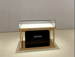 Fashion Jewelry Counter, Glass Show Case, Display Cabinet