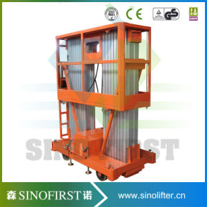 6m to 12m Hotel Use Light Weight Aluminum Alloy Lift Platforms pictures & photos