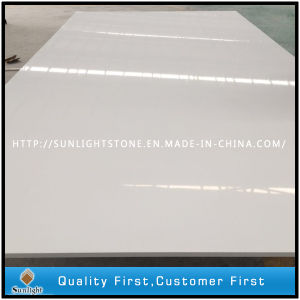 Engineered Artificial White Quartz for Slabs and Tiles pictures & photos