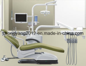 Deluxe Type Dental Chair Leather Cushion Dental Chair pictures & photos