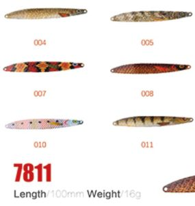 Stock Available 100mm 16g Fishing Spoon Lures pictures & photos