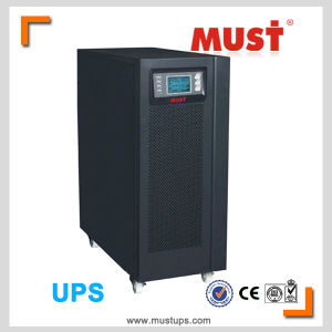 Pure Sine Wave LCD Display 6kVA UPS 10kVA UPS Price pictures & photos