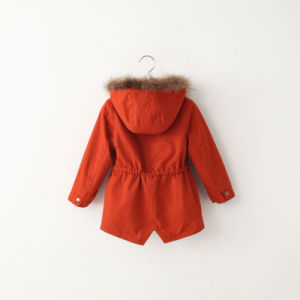 Western Slimming Girl Children Coat for Winter Apparel pictures & photos