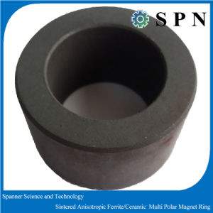Hard Ferrite Sintered Multipole Magnet Rings for Motor pictures & photos