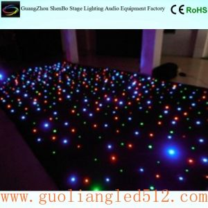 LED Full Color Star Curtain Cloth Party Decoration