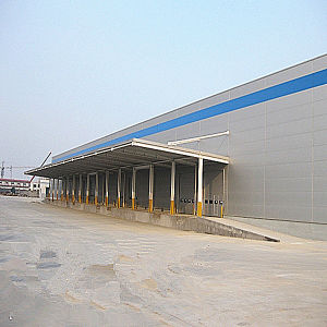 Light Weight Steel Structure for Storage Warehouse pictures & photos