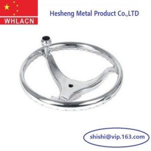 Precision Investment Casting Boat Steering Wheel pictures & photos