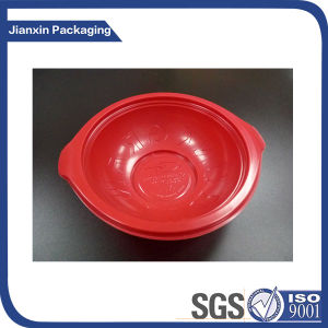 Disposable Red Plastic Packaging Storage pictures & photos