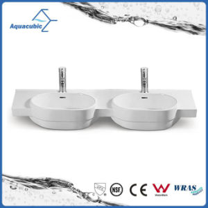 Ceramic Cabinet Basin and Vanity Top Hand Washing Sink (ACB2187) pictures & photos