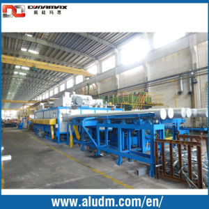 Back Feeding Aluminium Billet Heating Furnace pictures & photos