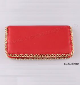 New Fashion Women Leather Wallet with PU pictures & photos