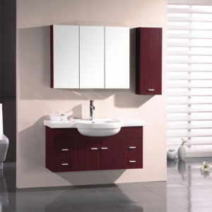 Melamine Surface Bathroom Vanity with Good Quality (SW-ML184) pictures & photos