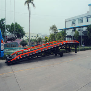 8 Ton Movable Container Loading Yard/Dock Ramp pictures & photos