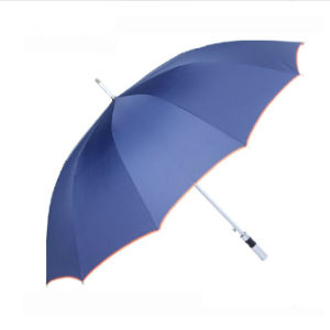 Stylish Automatic Sun Protective Patio Straight Umbrella