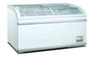 Chest Glass Door Freezer, Closed Display Cabinet pictures & photos