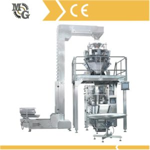 Wafer Cubes Filling Packing Machine with Mulithead Weigher pictures & photos