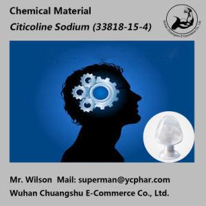 Brain Excitatory Medicine Powder Citicoline Sodium 33818-15-4 pictures & photos