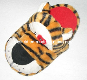 Plush Toy Slipper Shoes Stuffed Tiger (TF9724) pictures & photos