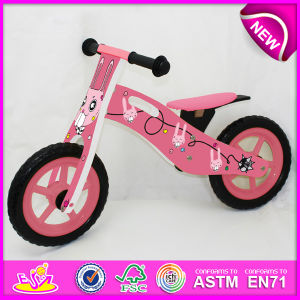 2014 New Wooden Bicycle Toy for Kids, Popular Wooden Bike Toy for Children, New Style Wooden Toy Bicycle for Baby Factory W16c079 pictures & photos