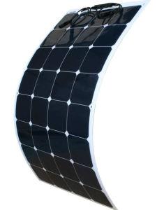 100W 18V Mono Solar Cell Silicon Wafer Price Semi Flexible Panel pictures & photos