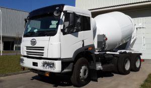 8-12 Cbm Faw Cement Mixer Truck pictures & photos