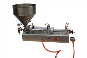 Manual Single or Two Head Filling Machine for Honey pictures & photos