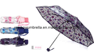 Heat Transfer Printing Folding Umbrella (P1010)