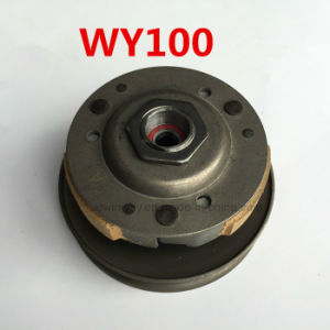 Wh100 Motorcycle Parts Clutch Assembly pictures & photos