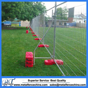 Construction Site Steel Galvanized Rmovable Temporary Fence pictures & photos