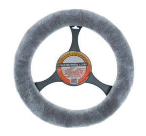 Sheepskin Steering Wheel Cover -Car Accessary
